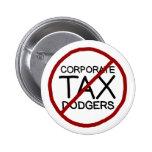 Ningún impuesto de sociedades Dodgers Pin