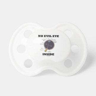 Ningún interior del mal de ojo (humor anatómico chupetes