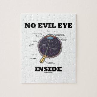 Ningún interior del mal de ojo (humor anatómico puzzle