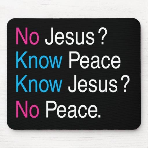Ningún Jesús Tapetes De Ratones