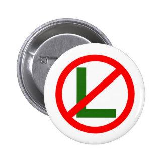 Ningún - L botón del navidad de Noel Pin Redondo De 2 Pulgadas
