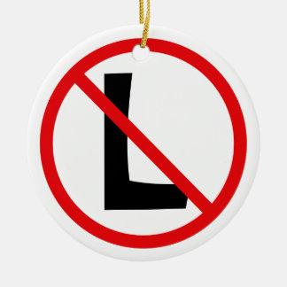 Ningún L ornamento Adorno De Navidad