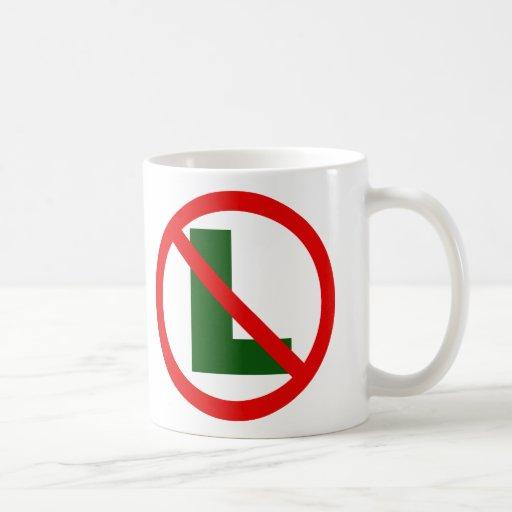 Ningún L taza #1