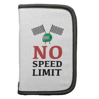 Ningún límite de velocidad planificadores