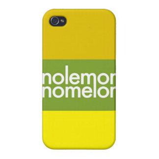 """Ningún limón, ningún melón "" iPhone 4/4S Funda"