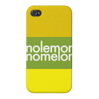 """""""Ningún limón, ningún melón """" iPhone 4 Carcasas"""