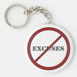 Ningún llavero 1 de las excusas