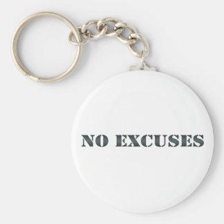 Ningún llavero 3 de las excusas