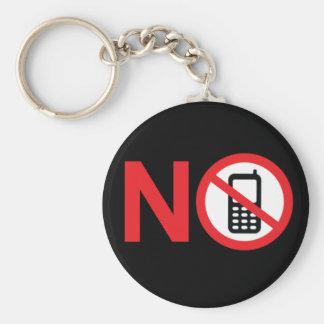 Ningún llavero de la zona del teléfono