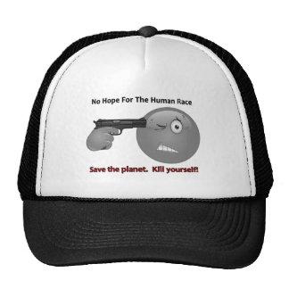 Ningún logotipo del Emoticon de la esperanza Gorras De Camionero