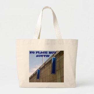 Ningún lugar pero bolso de Austin Bolsa Tela Grande