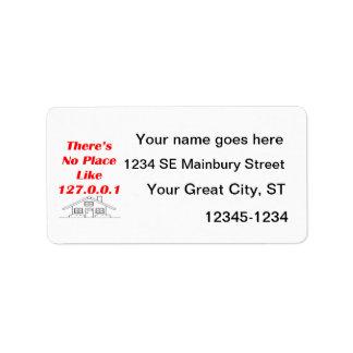 ningún lugar tiene gusto a casa etiquetas de dirección