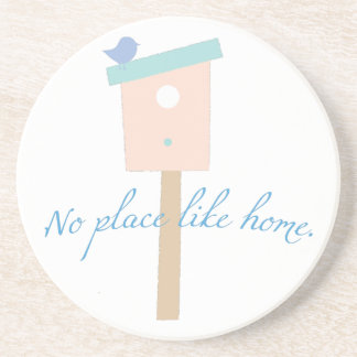 Ningún lugar tiene gusto a casa posavasos personalizados