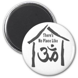 Ningún lugar tiene gusto de caligrafía de OM Iman Para Frigorífico