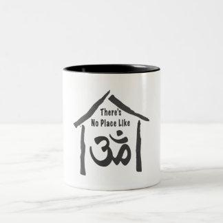 Ningún lugar tiene gusto de caligrafía de OM Taza