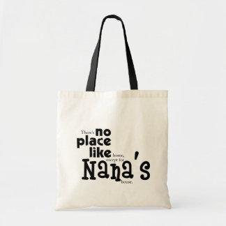 Ningún lugar tiene gusto del bolso de Nana Bolsa
