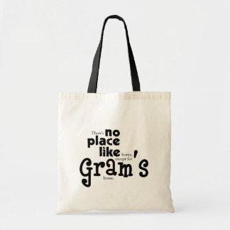 Ningún lugar tiene gusto del bolso del gramo bolsas