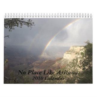 Ningún lugar tiene gusto del calendario de Arizona