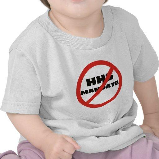 Ningún mandato de HHS Camiseta