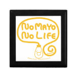 Ningún Mayo ninguna vida Cajas De Regalo