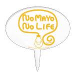 Ningún Mayo ninguna vida Palillos De Tarta