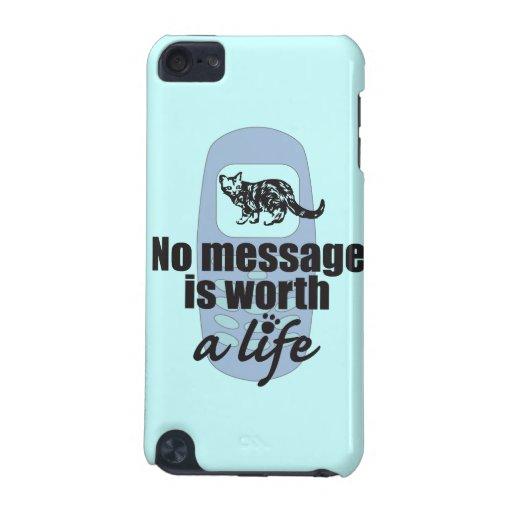 Ningún mensaje vale una cubierta de iPod de la vid Funda Para iPod Touch 5G