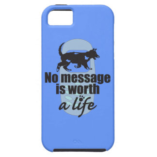 Ningún mensaje vale una vida iPhone 5 cobertura