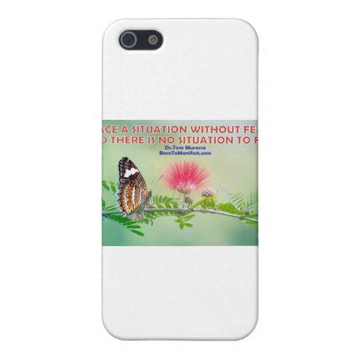 Ningún miedo iPhone 5 fundas
