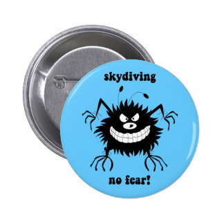 ningún miedo skydiving pins
