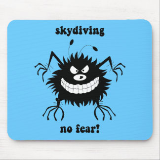 ningún miedo skydiving alfombrillas de raton