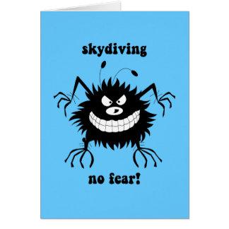 ningún miedo skydiving felicitaciones