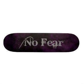 Ningún miedo tabla de patinar