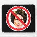 Ningún Nancy Pelosi Alfombrillas De Raton