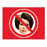 Ningún Nancy Pelosi Tarjeta Postal