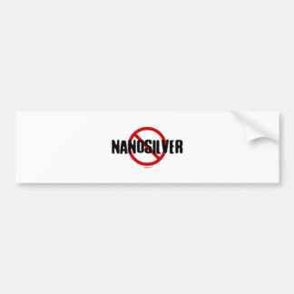 Ningún Nanosilver Pegatina Para Auto