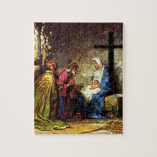 Ningún navidad sin la cruz rompecabeza