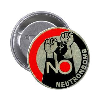 NINGÚN neutrón - botón Pins