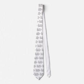 Ningún ningún arreglo su regalo de la tecnología d corbata personalizada