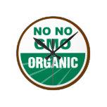 Ningún ningún GMO Orgainc Reloj