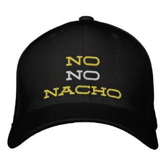 ¡Ningún ningún gorra bordado Nacho! Gorra Bordada