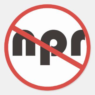 Ningún NPR Etiquetas