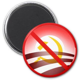 Ningún Obama 2012 Imán Redondo 5 Cm