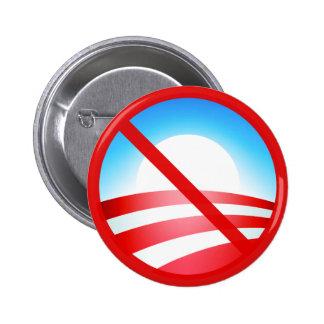 Ningún Obama 2012 Pin Redondo De 2 Pulgadas