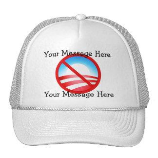 Ningún Obama 2012 - su texto de encargo Gorros
