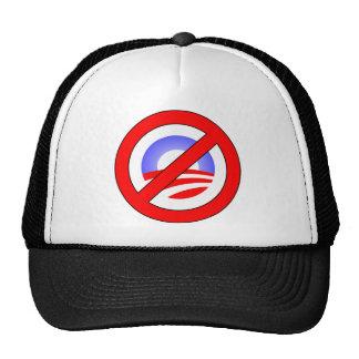 Ningún Obama bastante que sí Romney Gorros Bordados