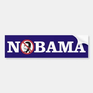 Ningún Obama Bumpersticker Pegatina Para Auto