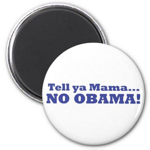¡Ningún Obama! Imán