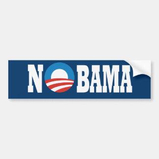 ningún obama pegatina de parachoque