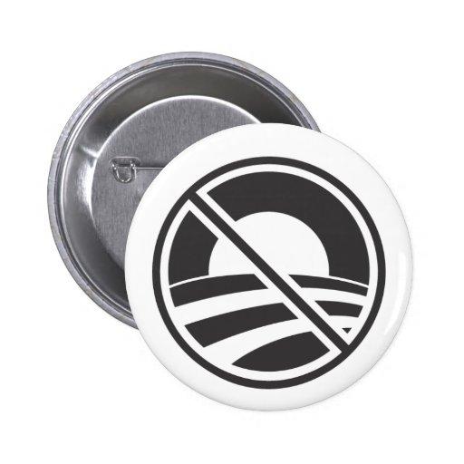 Ningún Obama Pins