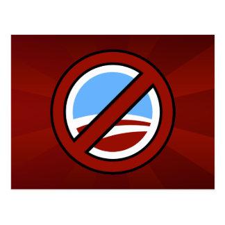 Ningún Obama: Su cambio no está en mi cartera Postal
